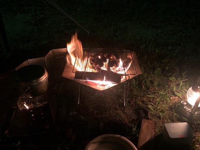 ソロ焚き火のおすすめコンパクト道具